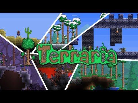 terraria how to make a mushroom biome