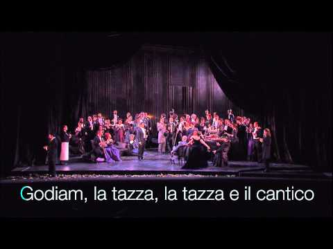 La Traviata, Brindisi karaoke from Teatro Real