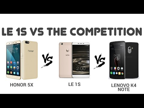 LeEco Le 1S Specs Comparision