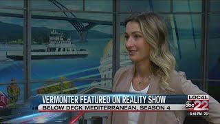 Vermonter, Anastasia Surmava describes her time on reality show, Below Deck Mediterranean