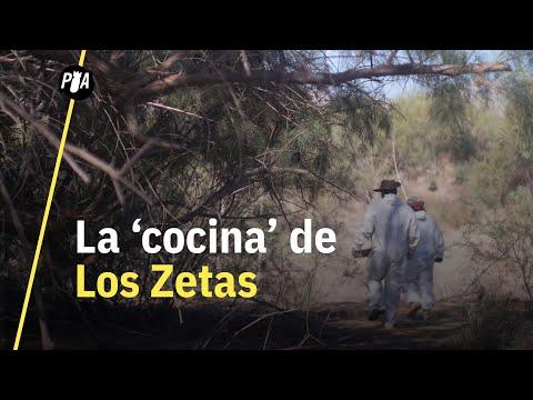 Buscan a sus hijos en una cocina de Los Zetas