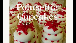 Poinsettia Soapy Cupcakes - 20% off all stock now!