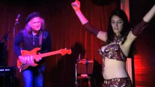 "Ragarock with Bellydancers -Spaghetti Eastern Music ""The Camel"" Live at KGB Bar Red Room NYC"