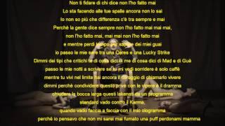 Fritz Da Cat - Never ft. Guè Pequeno, Nitro, Madman - TESTO