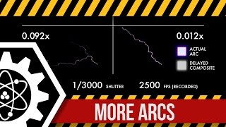 HV Arc Propagation in Slow Motion (all clips)