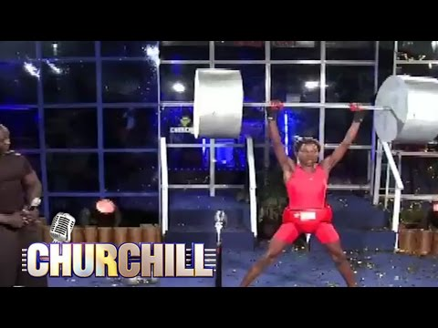 Eric Omondi - Weight Lifting