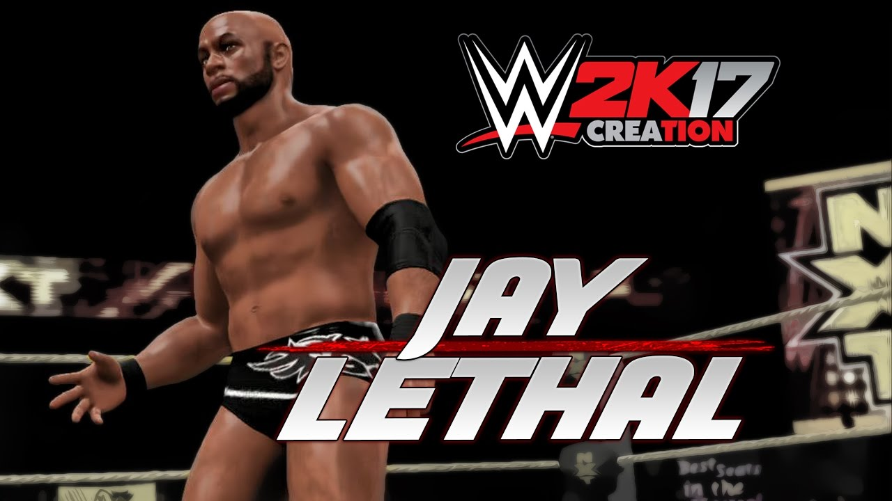Wwe 2k17 Caw Creation Jay Lethal Youtube