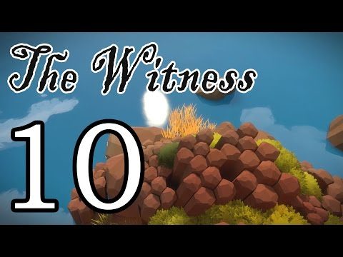 [10] The Witness - The Courtyard - Let's Play! Gameplay Walkthrough (PS4)