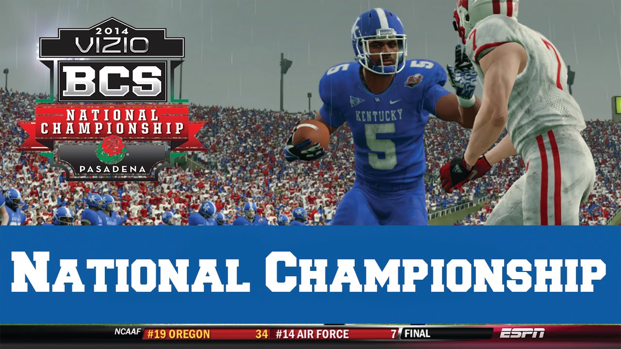 ncaa football game when is the national championship football game