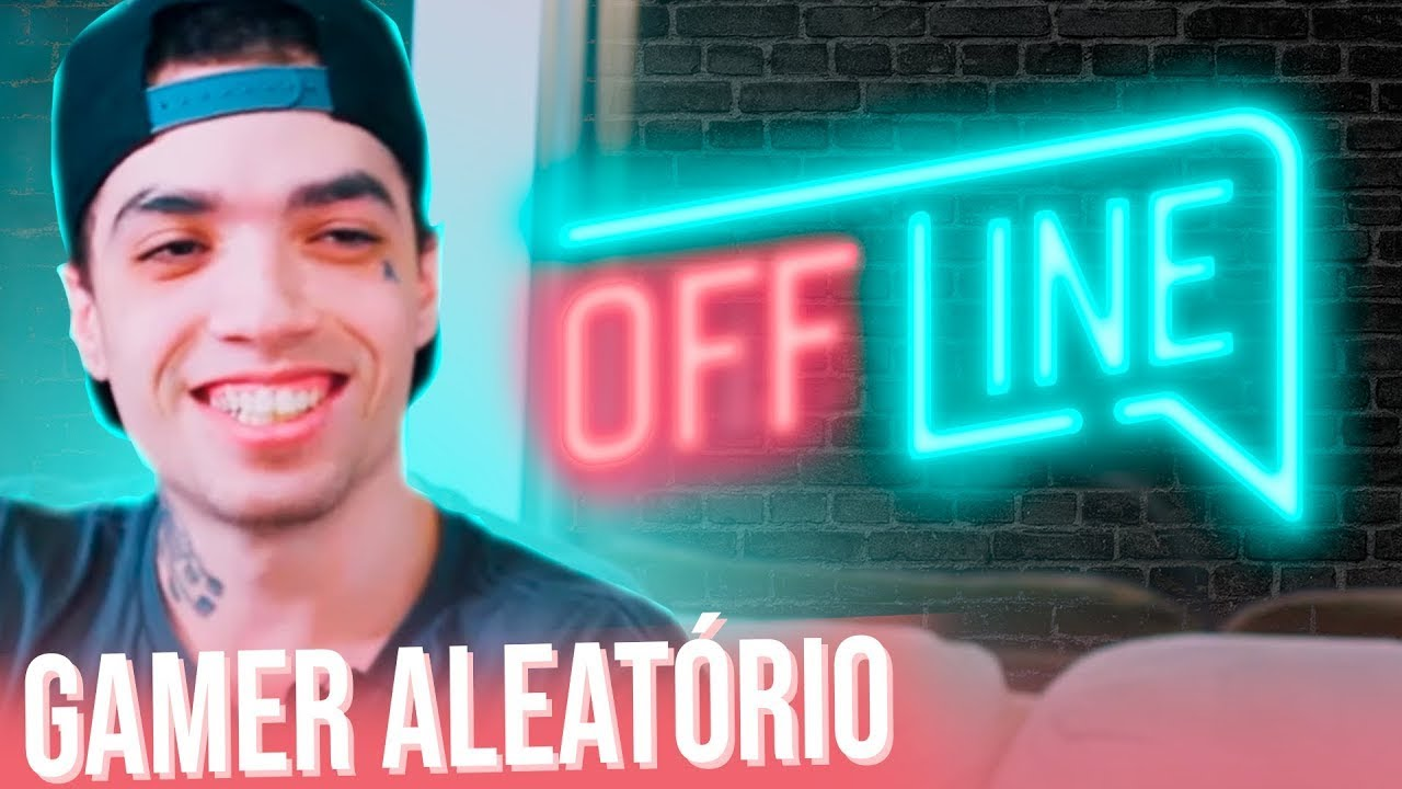 Off Line Entrevistando Gabriel Lopes Um Gamer Aleatorio Youtube