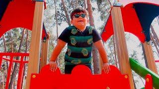 Детская площадка в парке - Развлечения для детей