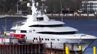 Mega Yacht Secret - front views - Abeking und Rasmussen