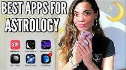 THE BEST HOROSCOPE ZODIAC APPS TO USE!!! (astrology apps i love)