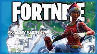 Fortnite Battle Royale: Hot Drop! - Snobby Shores! (Hot Drop Episode 2)