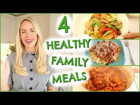 4 FAMILY MEALS  |  AD  |  HEALTHY SIMPLE MEAL IDEAS