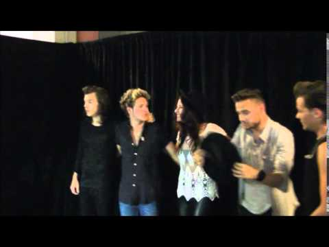 One Direction  Meet and Greet Vienna elefranci  YouTube