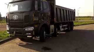 Китайские грузовики. FAW 8X4 CA3310P4K2T4 (1ое видео)(Все фото в ВК: https://vk.com/tlk_84952367477 Перегон по маршруту: Санкт-Петербург - Житнево 30.06.14 Тех.хар-ки на http://blagteh.ru/cata..., 2015-01-22T12:28:06.000Z)