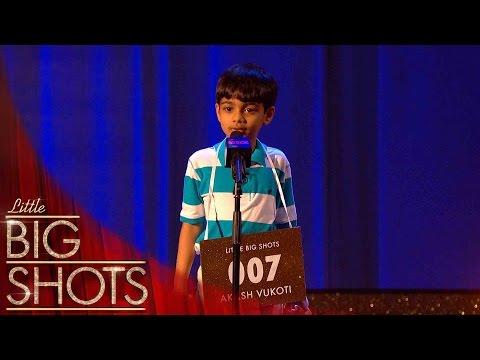 Little brainbox Akash can spell any word! | Little Big Shots