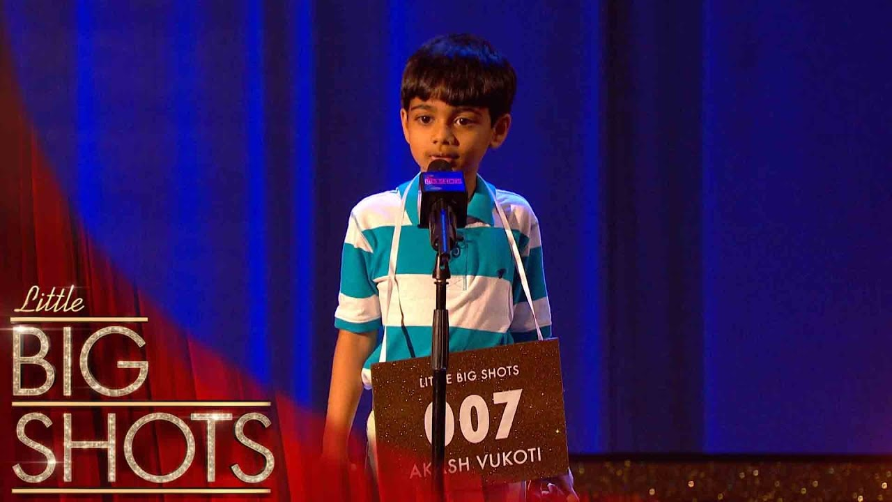 Download Little brainbox Akash can spell any word! | Little Big Shots