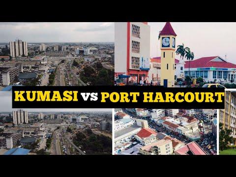 Kumasi Ghana vs Port Harcourt Nigeria; Which City is Most Beautiful? Visit Africa