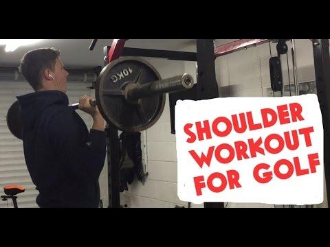 SHOULDER WORKOUT FOR GOLF – 3 Exercises For Strong & Healthy Shoulders