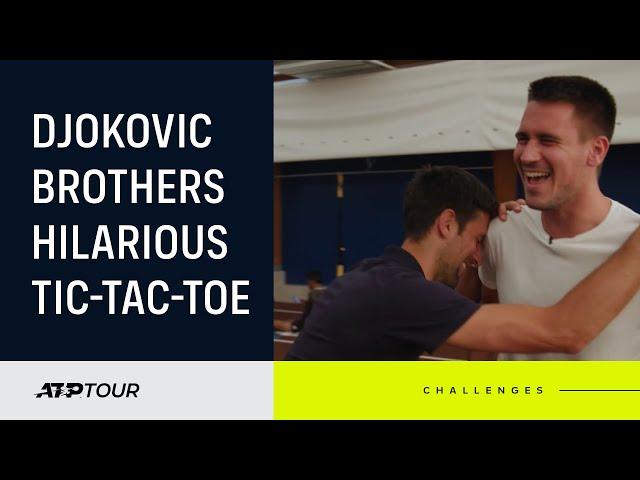 TENNIS TIC TAC TOE: Djokovic Brothers Face Off!