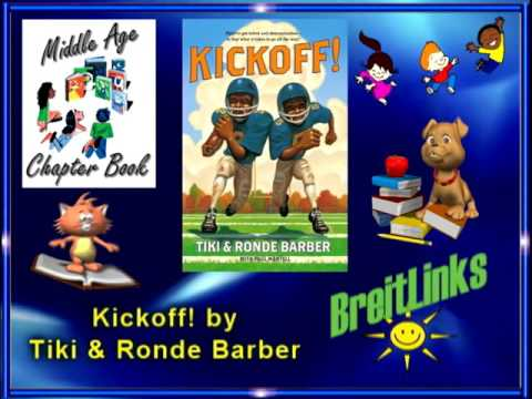 Middle Reader:  Barber Game Time Series -- Kickoff!, by Ronde & Tiki Barber