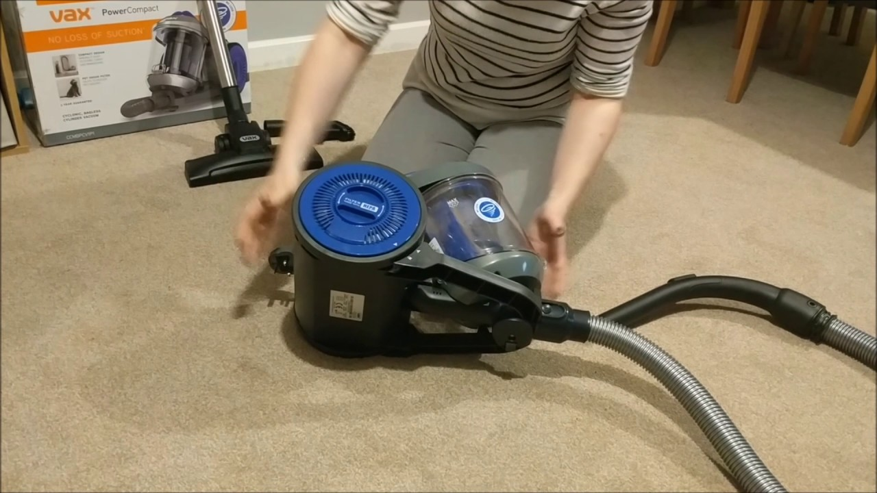Vax Power Compact Pet Cylinder Vacuum