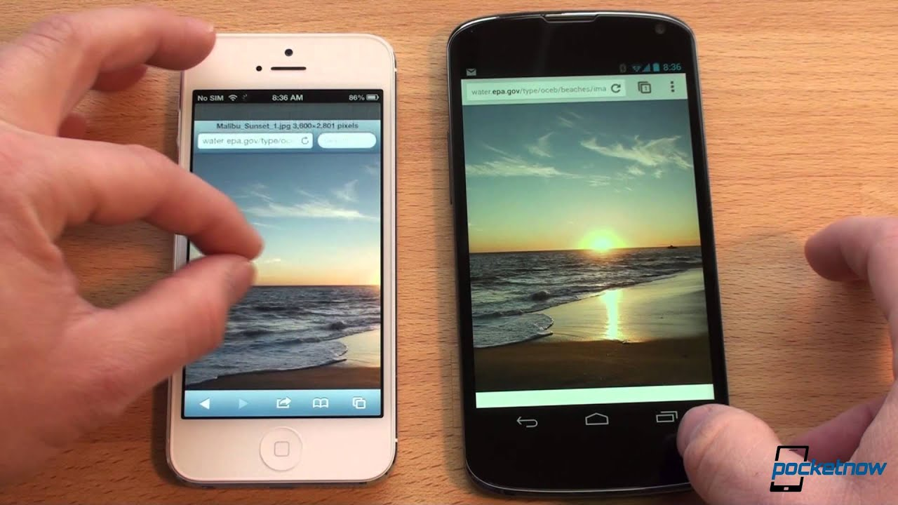 IPhone 5 Vs Nexus 4