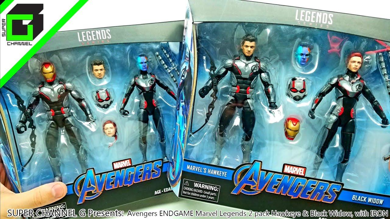 """Marvel Legends 6/"""" Scale Figure Black Widow Quantum 2 pack complet Excellent"""
