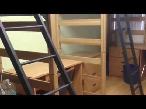 CSULB Beachside Housing move-out (triple-room dorm)
