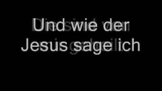 Wolfgang Ambros - Heidenspaß (Mir geht es wie dem Jesus) (Lyrics)