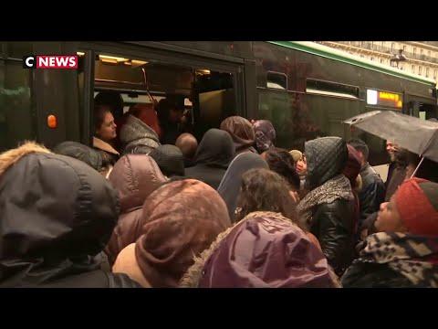 En Ile-de-France, Un Record De Bouchons Et Des Transports En Commun Saturés