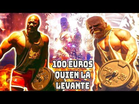 OLEADA PESA DE THANOS 100 EUROS A QUIEN LA LEVANTE en el GIMNASIO *reto fitness con desconocidos*