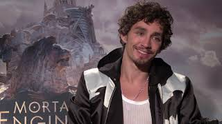 Mortal Engines Interview with Robert Sheehan and Leila George