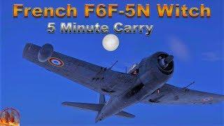 Video WT || 5 Minutes For 6 Kills - F6F-5N Quick Carry download MP3, 3GP, MP4, WEBM, AVI, FLV Desember 2017