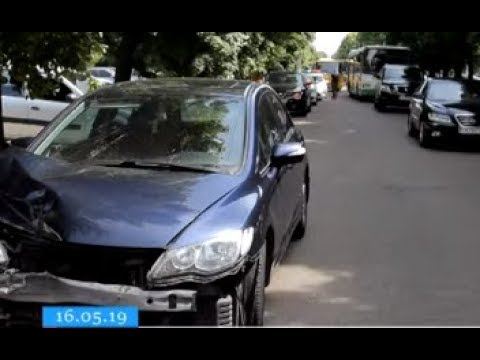 ТРК ВіККА: У Черкасах ДТП ледь не завадила велопробігу у вишиванках