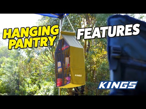 Adventure Kings Hanging Pantry Features