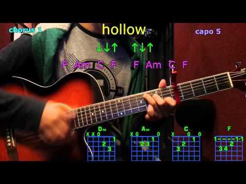 hollow tori kelly guitar chords