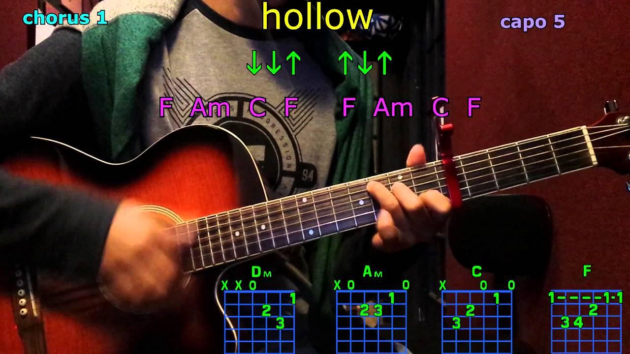 Hollow Tori Kelly Guitar Chords Youtube