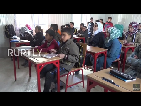 Syria: Classes resume at newly reopened school in eastern Aleppo