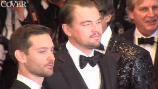 Leonardo DiCaprio tried to hide in the crowd at Beyonce concert