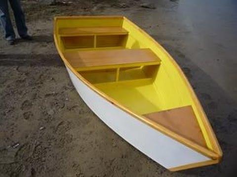 Простой способ изготовление лодки.