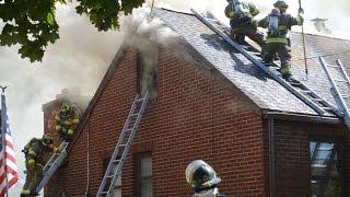 Doyle FD 2nd Alarm Fatal Structure Fire w/ Evac - 93 Peoria ave