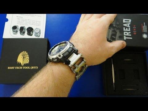 Браслет Leatherman с ПЕРЕХОДНИКОМ на часы Casio ProTrek полная верися