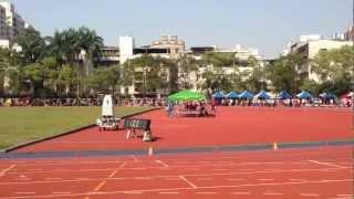 2013年全國青年盃田徑錦標賽,1500公尺決賽片段,2012倫敦奧運國手張嘉哲