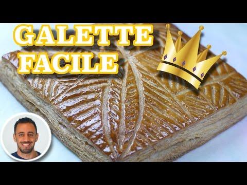 ✌-galette-des-rois-★-recette-facile-avec-pâte-feuilletée-rapide-/-crème-d'amande-✌