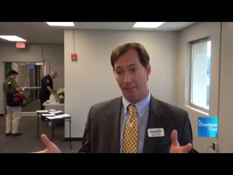 5_13 Councilman Bates Mattison explains Brookhaven Innovation Academy school