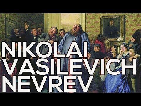 Nikolai Vasilevich Nevrev: A collection of 61 paintings (HD)