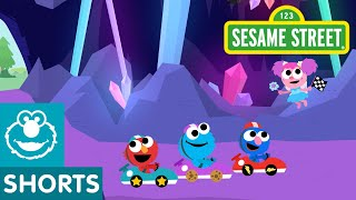 Sesame Street: Crystal Cave Track | Magical Car Races #9